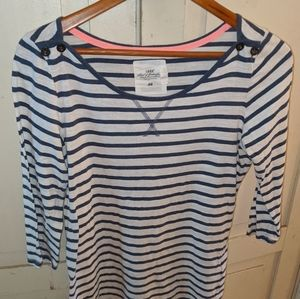 {H&M} L.O.G.G. Boat Neck Tee